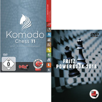 Komodo 11 Chess Playing Software with Fritz PowerBook 2018 - Chess Database Software (PC-DVD)