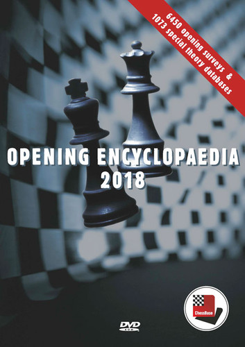 ChessBase Opening Encyclopedia 2018 upgrade on PC-DVD