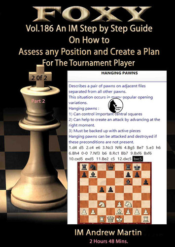 Foxy 186: How to Evaluate Positions & Create Plans (Part 2) - Chess Strategy Video Download