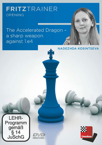 The Accelerated Dragon: A Sharp Weapon Against 1.e4 - Chess Opening Software Download