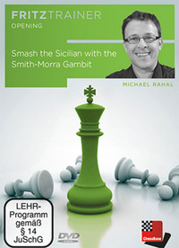 Smash the Sicilian with the Smith-Morra Gambit (Chess Opening Software DVD), Plus the Smith-Morra Gambit Accepted Data Library Download