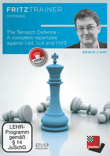 The Tarrasch Defense: A Complete Repertoire against 1.d4, 1.c4 and 1.Nf3 - Chess Opening Software Download