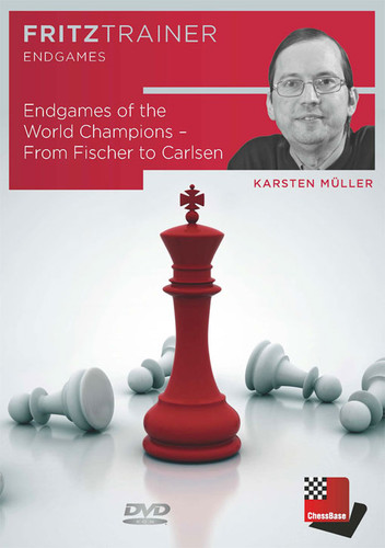 Endgames of the World Champions from Fischer to Carlsen - Chess Endgame Software  for PC-DVD