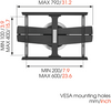 Vogel's MotionMount (NEXT 7355) - the TV wall mount that turns automatically