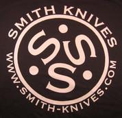 SK Gear - Smith Knives T-Shirt - White on Dark Green - SK9999-TSG