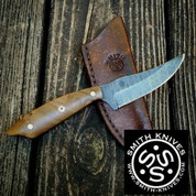 "Lacy Smith - ""Talladega"" Damascus Skinner - SK1705359-FLS"