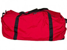 Big Red Duffle Bag