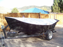 Custom cover for an 18' Dory.