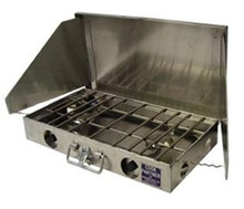 Partner Steel 2 Burner Stove 22""