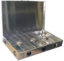 Partner Steel 3 Burner Stove 26""