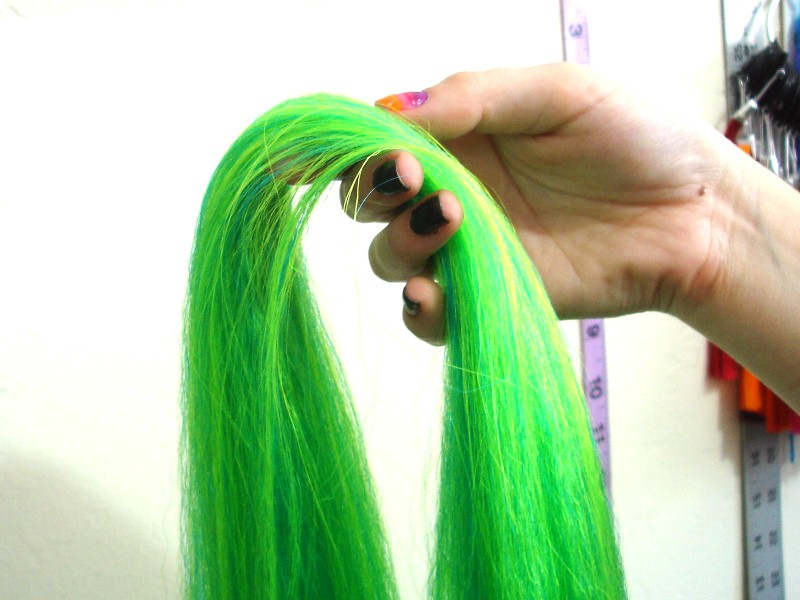 Tutorial How To Blend Synthetic Hair I Kick Shins