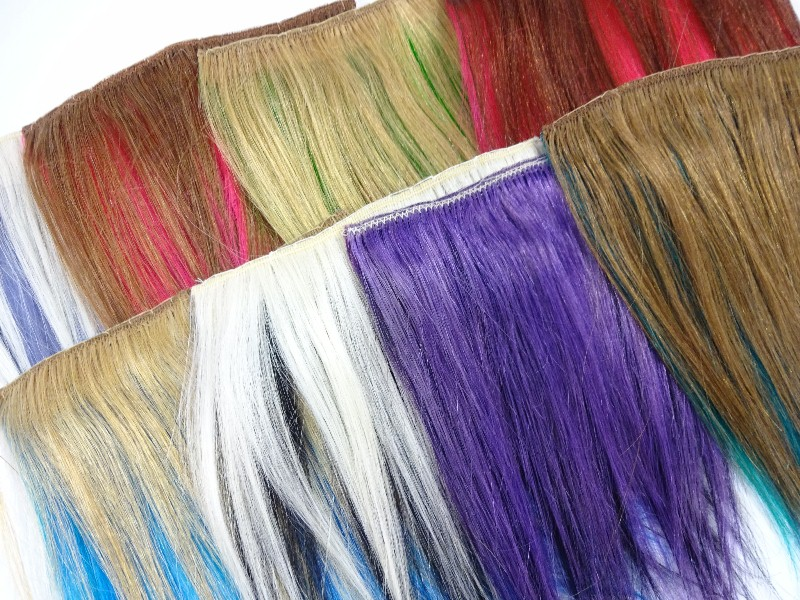Color Swatches For New Adore Hair Dye Colors I Kick Shins