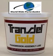 Transmission Assembly Lube Gold TransJel