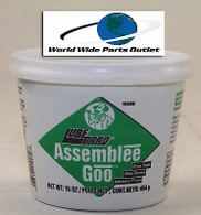 Transmission Assembly Lube Green Goo LubeGard / Dr. Tranny Assembly Grease Green