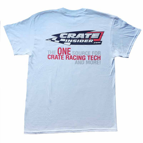 Crate Insider White T-Shirt - FREE SHIPPING