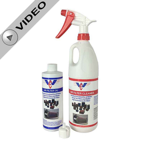 Walker Performance Air Filter Cleaning Kit