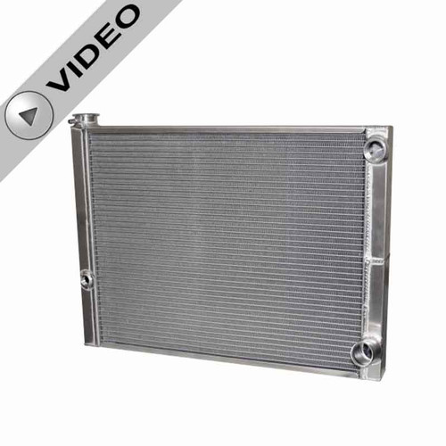 AFCO 80185 Lightweight Radiator for Dirt Late Models 19x27.5