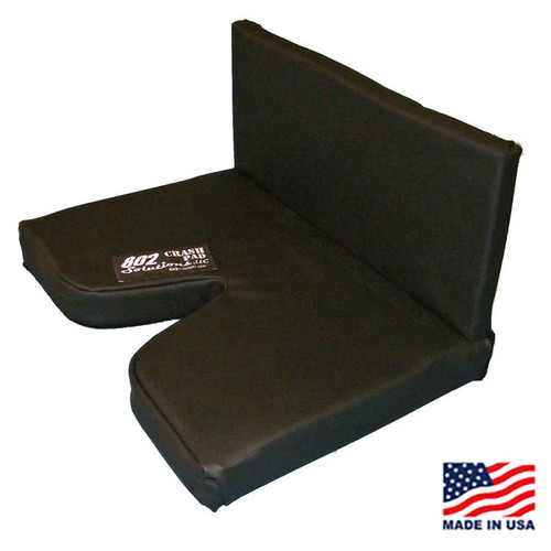 "2"" CRASH PAD with 8"" Lumbar Back Pad"