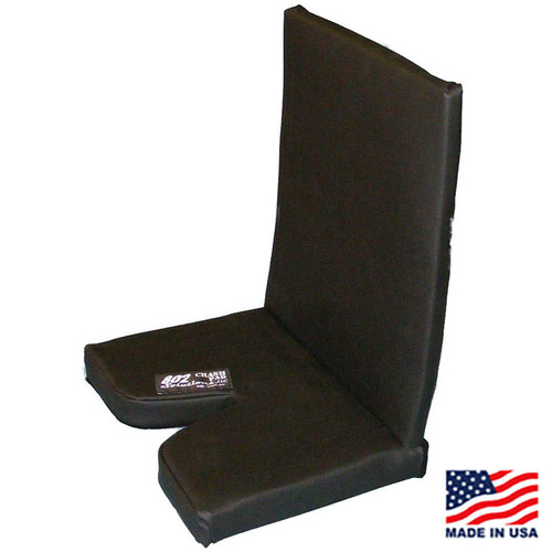 "2"" CRASH PAD with 20"" Shoulder Height Back Pad"