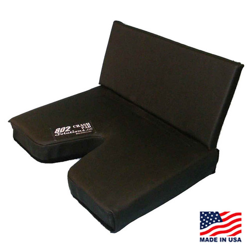 "3"" CRASH PAD with 8"" Lumbar Back Pad"