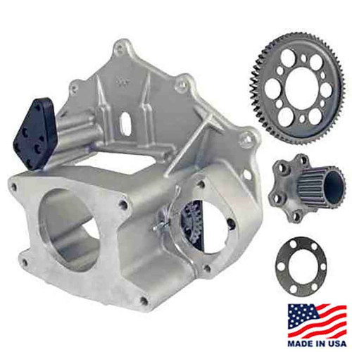 Winters/Maverick 10-Spline Bellhousing Assembly with HTD Flywheel