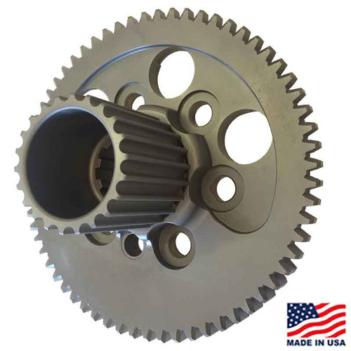 Winters/Maverick 10-Spline Flywheel, Externally Balanced, with HTD Drive