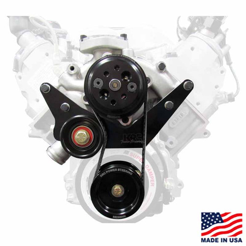 CT525 Complete Front Drive Kit w/WP, Tensioner, Water Bypass, Engine Mounts, & Pulleys
