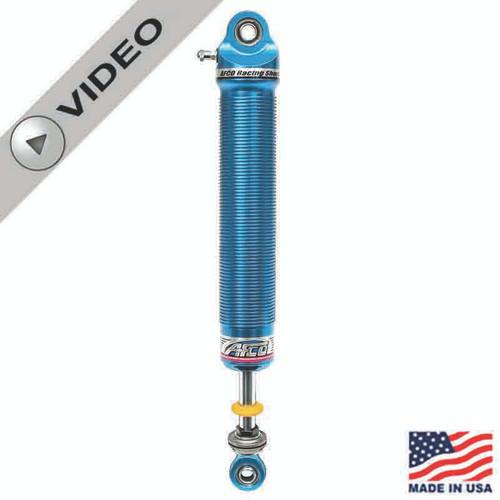 """AFCO 21 Series Dirt Late Model Aluminum Non-Adjustable Shocks, 9"""" Stroke, 1"""" Longer Shaft"""