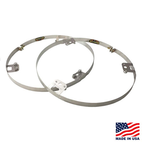 Dominator Stainless Steel Wheel Ring - Dzus Fasteners