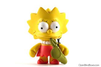 Lisa Simpsons Series 1 Kidrobot Front