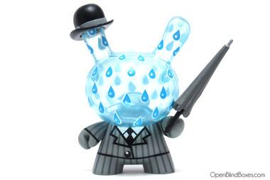Triclops Rainy London Ye Olde English Dunny Kidrobot Front