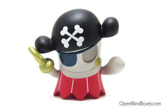Boooya Pirate Ghosts Mad Kidrobot Front
