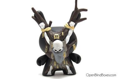 Hanged Man Arcane Divination Dunny Kidrobot JPK Front