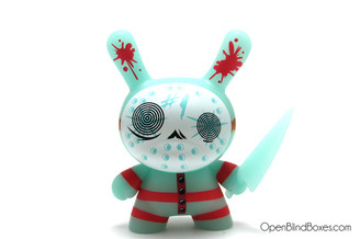 #1 The Mad Butcher Glow Dunny Brandt Peters The 13 Kidrobot Front
