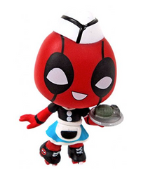 Roller Waitress Deadpool Mystery Mini