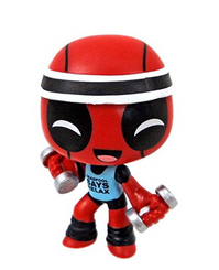 Workout Deadpool Mystery Mini