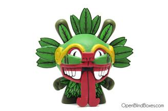 The Beast Brothers Quetzalcoatl Azteca Dunny Front
