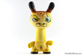 Scribe Jonahone Giraffe Dunny 2012 Kidrobot Front