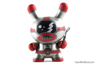 Frank Kozik Spaceman Evolved Dunny Kidrobot Front