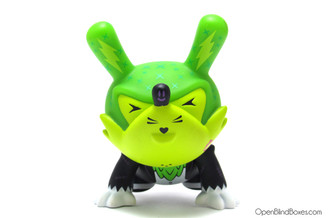 Kronk Green Wolf Dunny Evolved Stage 3 Kidrobot Front