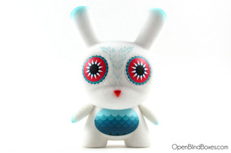 Nathan Jurevicius Dievas White Side Show Dunny Front