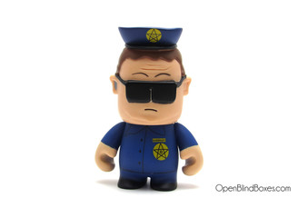 Officer Barbrady South Park Kidrobot Front