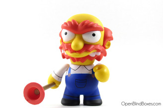 Groundskeeper Willie Simpsons Series 2 Kidrobot Front