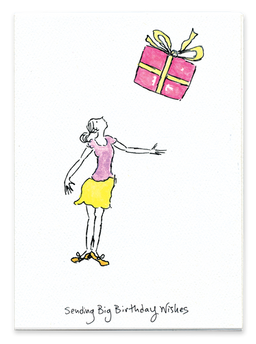 Sending Big Birthday Wishes