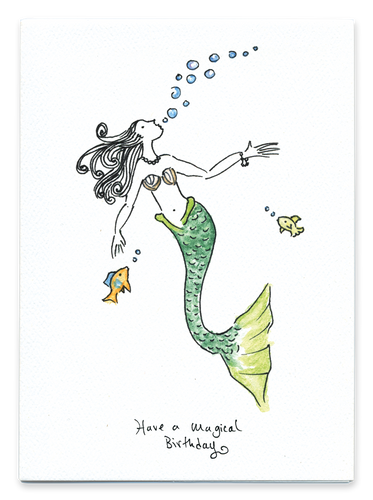 Have a Magical Birthday (Mermaid)