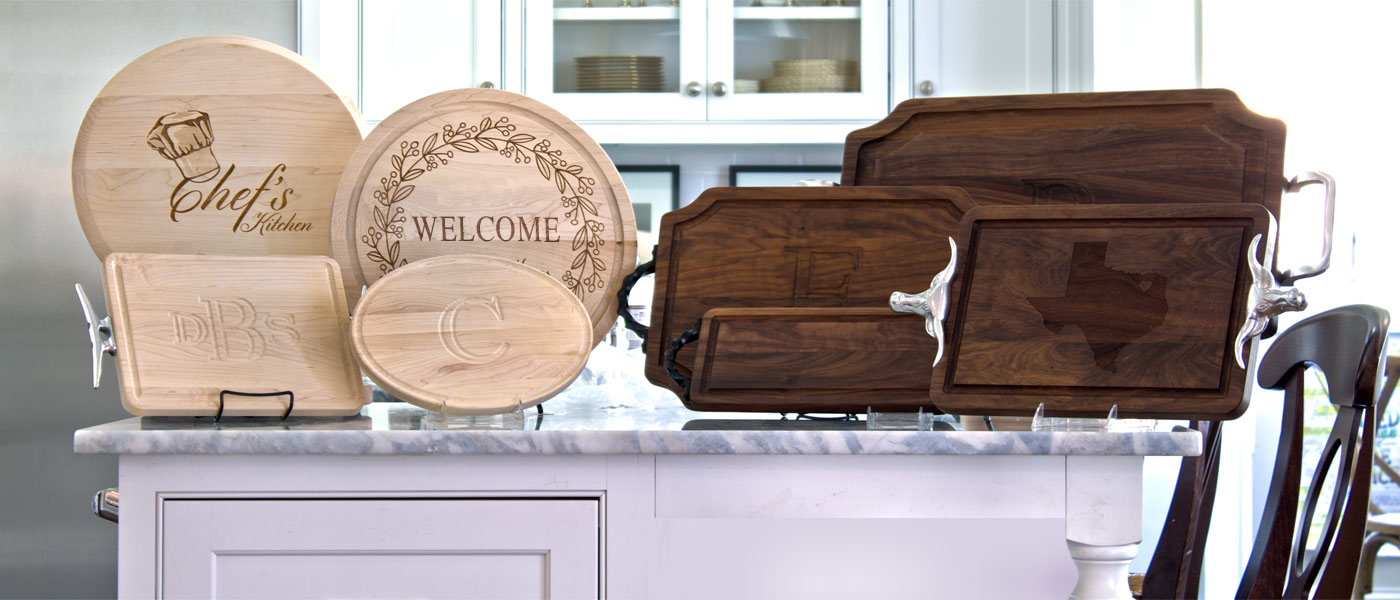 BigWood Boards Monogrammed Cutting Boards