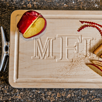 Monogrammed Cutting Boards