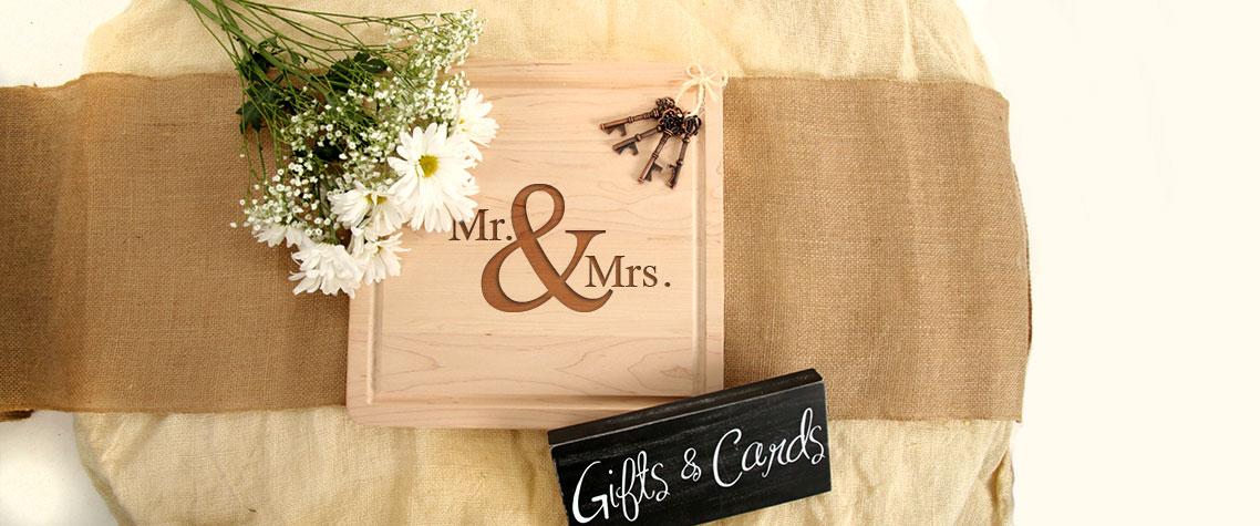 wedding gift cutting boards