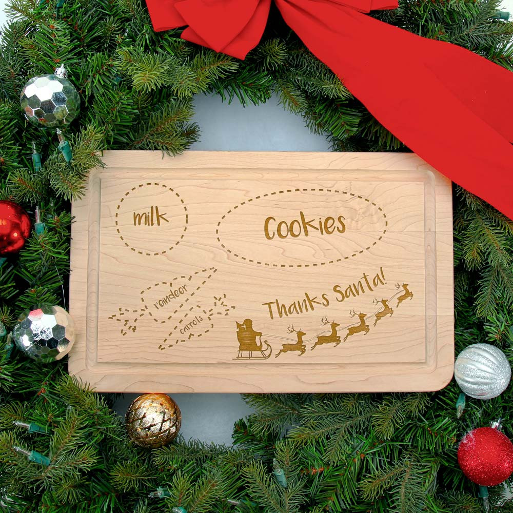 Welcome Santa! Cutting Board