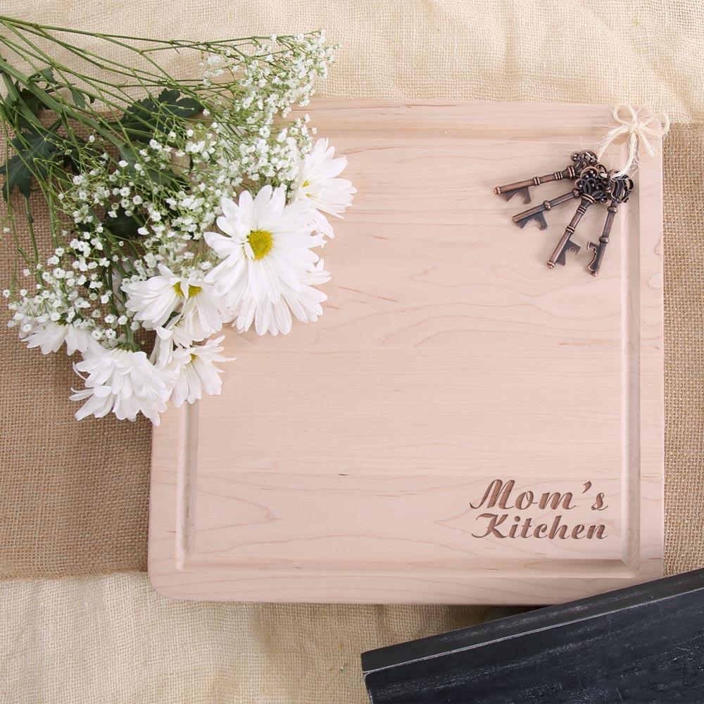 Mom\'s Kitchen Cutting Board